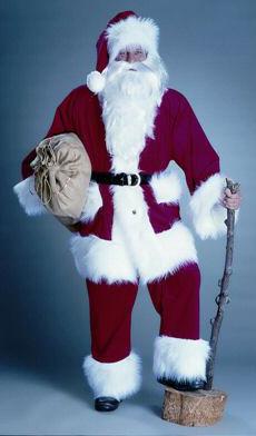 Weihnachtsmann - Weihnachtsfeier - Bescherung