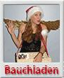 Bauchlanden-Engel Engelchen Comedy Walkact Weihnachtsfeier Köln Bonn Düsseldorf Weihnachtsfrau